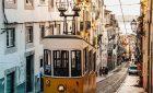 The tram parade